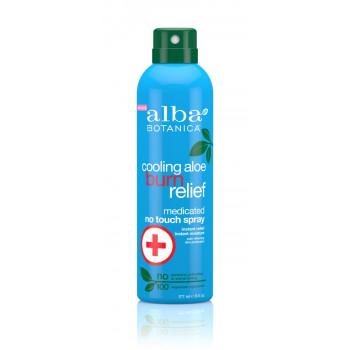 Alba Botanica Cooling Aloe Burn Relief Spray - Натуральное солнцезащитное средство (177мл.)