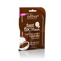 Alba Botanica Fast Fix Coconut Milk Hydrate Sheet Mask - Глубокоувлажняющая маска гидрат кокосовой воды (85гр.)