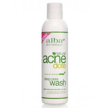 Alba Botanica Deep Pore Wash - Средство для очищения жирной и проблемной кожи (177мл.)