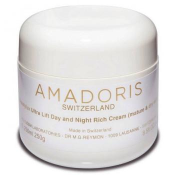 Amadoris BEAUTYLUX Ultra Lift Day and Night Rich Cream - Лифтинг-крем 24-часовой для сухой и чувствительной кожи (250мл.)