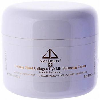 Amadoris H2O Lift Balance Сream - Крем Н2О на клеточном уровне с коллагеном (для смешанной и жирной кожи) 250мл.