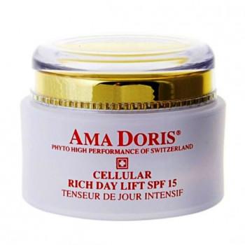 Amadoris Hydro Biodynamic Cellular Rich Day Lift SPF 15 - Клеточный дневной лифтинг- крем с фитоэстрогеном для сухой кожи SPF 15 (50мл.)
