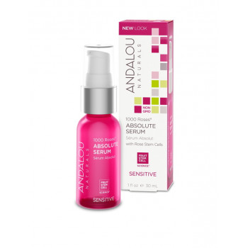 Andalou Naturals 1000 Roses Absolute Serum - Сыворотка для лица (30мл.)