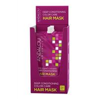 Andalou Naturals 1000 Roses® Complex Color Care Deep Conditioning Hair Mask - Маска для сухих, поврежденных и окрашенных волос (6шт. по 44мл.)