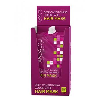 Andalou Naturals 1000 Roses® - Маска для сухих, поврежденных и окрашенных волос (6шт. по 44мл.)