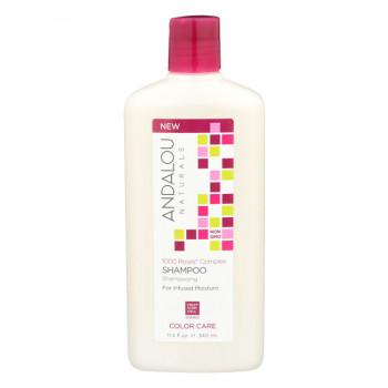 Andalou Naturals - Шампунь для сухих, поврежденных и окрашенных волос (340мл.)