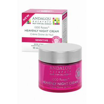 Andalou Naturals 1000 Roses Heavenly Night Cream - Ночной крем для лица (50мл.)