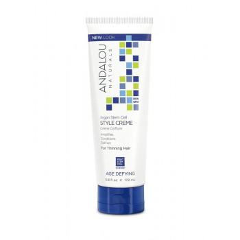 Andalou Naturals Age Defying Style Creme - Питательный стайлинг-крем для укладки ослабленных волос (172мл.)