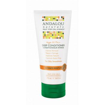 Andalou Naturals Argan Oil Plus+Deep Conditioner - Кондиционер для  восстановления прочности и элластичности волос (172мл.)