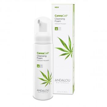 Andalou Naturals CannaCell® - Очищающая пенка для лица (163мл.)