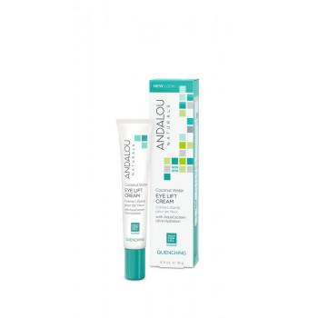 Andalou Naturals Coconut Water Eye Lift Cream - Лифтинг-крем для кожи вокруг глаз с экстрактами кактуса (18гр.)