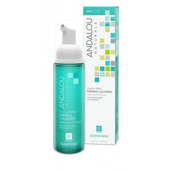 Andalou Naturals Coconut Water Firming Cleanser - Очищающая пенка для лица с экстрактами кактуса (163мл.)