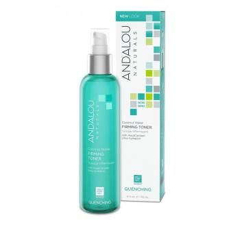 Andalou Naturals Coconut Water Firming Toner - Тоник для лица с про-витамином В5 (178мл.)