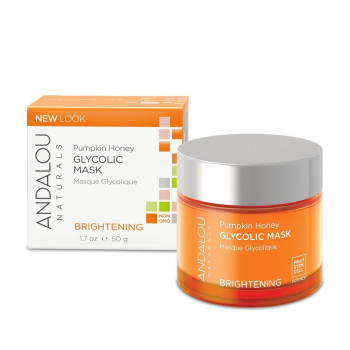 Andalou Naturals Pumpkin Honey Glycolic Mask - Гликолевая маска «Тыква и Манука мёд»  (50мл.)