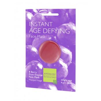 """Andalou Naturals Instant Age Defying Face Mask -  Маска для лица омолаживающая """"Энзимы клюквы и яблока"""" (6шт.по 8мл.)"""