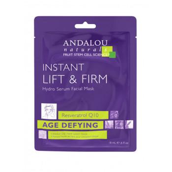 """Andalou Naturals  Instant Lift & Firm Hydro Serum Facial Mask -  Маска-сыворотка  для лица подтягивающая """"Мгновенный лифтинг"""" (6шт. по 18мл.)"""