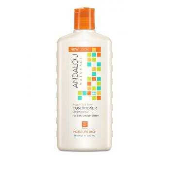 """Andalou Naturals Argan & Swt Orange Moisture Rich Conditioner - Кондиционер для увлажнения волос """"Арган и сладкий апельсин"""" (340мл.)"""