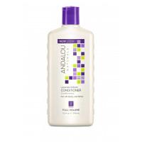 "Andalou Naturals Lavender & Biotin Full Volume Conditioner - Кондиционер для объема волос ""Лаванда и биотин"" (340мл.)"