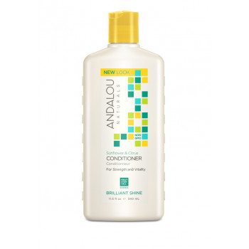 "Andalou Naturals Sunflower & Citrus Brilliant Shine Conditioner - Кондиционер для блеска волос ""Подсолнечник и цитрус"" (340мл.)"