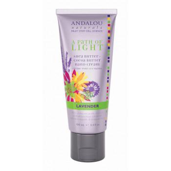 "Andalou Naturals Lavender Hand Cream - Крем для рук ""Лаванда"" (100мл.)"