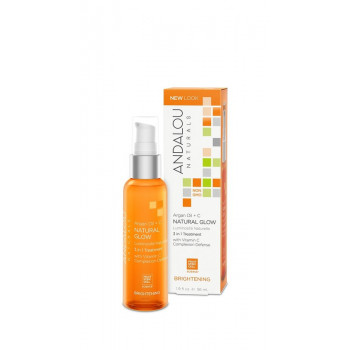 Andalou Naturals Argan + Omega Natural Glow 3 in 1 Treatment - Концентрат масел для лица «Арган+Омега» (56мл.)