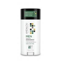 "Andalou Naturals MEN Botanical Deodorant - HIGHLAND PINE - Натуральный дезодорант ""Таежная пихта"" (75гр.)"