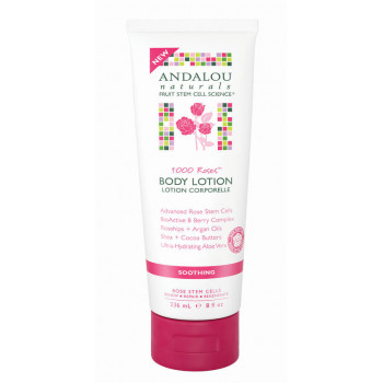 "Andalou Naturals 1000 Roses Soothing Body Lotion - Успокаивающий лосьон для тела ""1000 роз"" (236мл.)"