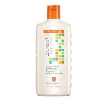 """Andalou Naturals Argan & Sweet Orange Moisture Rich Shampoo - Шампунь для увлажнения волос """"Арган и сладкий апельсин"""" (340мл.)"""