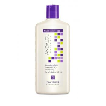 "Andalou Naturals Lavender & Biotin Full Volume Shampoo - Шампунь для объема волос ""Лаванда и биотин"" (340мл.)"