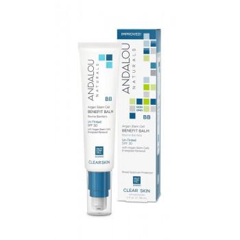Andalou Naturals Oil Control BB Beauty Balm Un-Tinted SPF 30 - Увлажняющий крем-бальзам для контроля жирности кожи SPF 30  (58мл.)