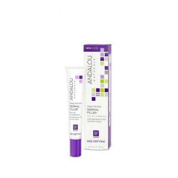 Andalou Naturals Deep Wrinkle Dermal Filler -  Пептидный филлер от глубоких морщин (18мл.)