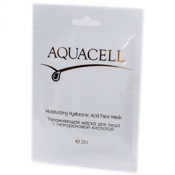 Aquacell - Увлажняющая маска для лица с гиалуроновой кислотой (10 шт.)