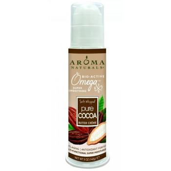 Aroma Naturals Cocoa Super Moisturizing Butter Creme - Супер увлажняющий крем с маслом какао (142гр.)