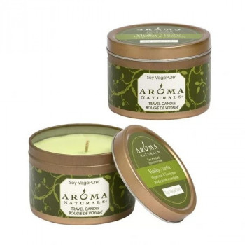Aroma Naturals Vitality Soy VP Tin Small - Свеча «Оживление» (80гр.)