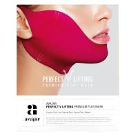 "Avajar Perfect V Lifting premium PLUS MASK - Лифтинговая  ""Плюс"" маска (Розовая) 1шт."