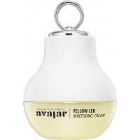 Avajar yellow LED Whitening Cream - Отбеливающий крем с многофункциональным аппликатором (Желтый) 50мл
