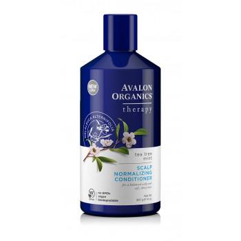 "Avalon Organics TEA TREE Scalp Treatment Conditioner - Кондиционер ""Чайное дерево и мята"" (325мл.)"