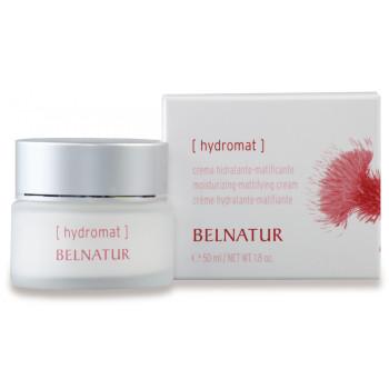 Belnatur HYDROMAT - Увлажняющий матирующий крем для нормализации чрезмерной секреции кожного сала и сокращения пор (50мл)