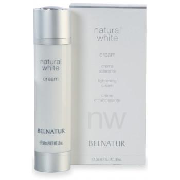 Belnatur NATURAL WHITE CREAM - Осветляющий дневной крем, препятствующий появлению темных пятен (50мл)