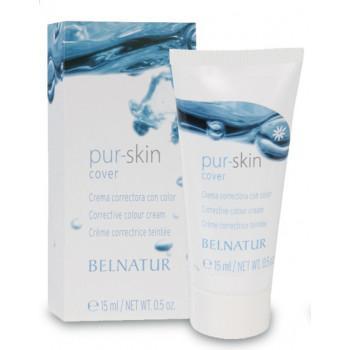 Belnatur PUR-SKIN COVER - Корректирующий лечебный крем (15мл)