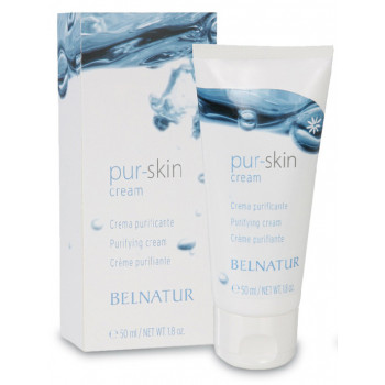 Belnatur PUR-SKIN CREAM - Легкий лечебный матирующий крем (50мл)