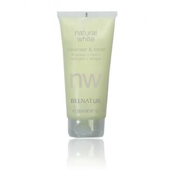 Belnatur NATURAL WHITE CLEANSER & TONER - Специальный гель-тоник для очищения кожи (200мл)