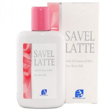 Biogena Savel Latte - Очищающее молочко с рисовыми отрубями (200мл.)