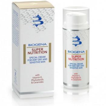 Biogena Supernutrition - Питательный крем для сухой и чувствительной кожи (50мл.)