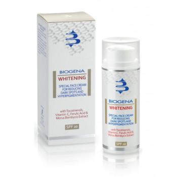 Biogena Whitening - Осветляющий крем для сияния SPF20 (50мл.)
