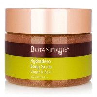 Botanifique HYDRADEEP BODY SCRUB GINGER AND BASIL - Скраб для тела имбирь и вербена (350мл.)