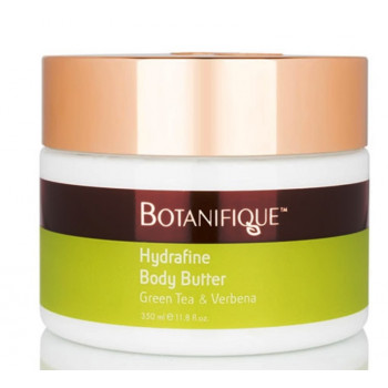 Botanifique Hydrafine Body Butter Green Tea & Verbena - Масло для тела Зеленый чай и Вербена (350мл.)