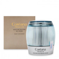 Coreana Premium Moisture Solution Gel Cream - Увлажняющий гель-крем (50мл.)