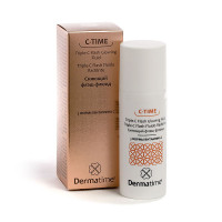 DERMATIME C-TIME Triple-C Flash Glowing Fluid - Сияющий флэш-флюид / 3 формы витамина С (50мл.)