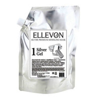 Ellevon - Премиум Альгинатная маска с серебром (гель + коллаген) 1000мл.+100мл
